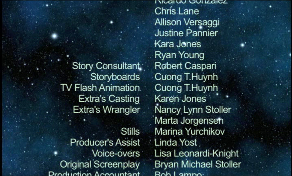 Storyboard and Flash animation credits - Cuong Huynh - Light Years Away (2008)