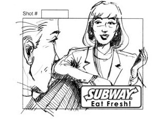 Subway-She finds out-featured