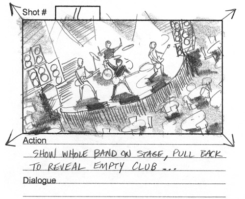Haggis music video storyboards-featured