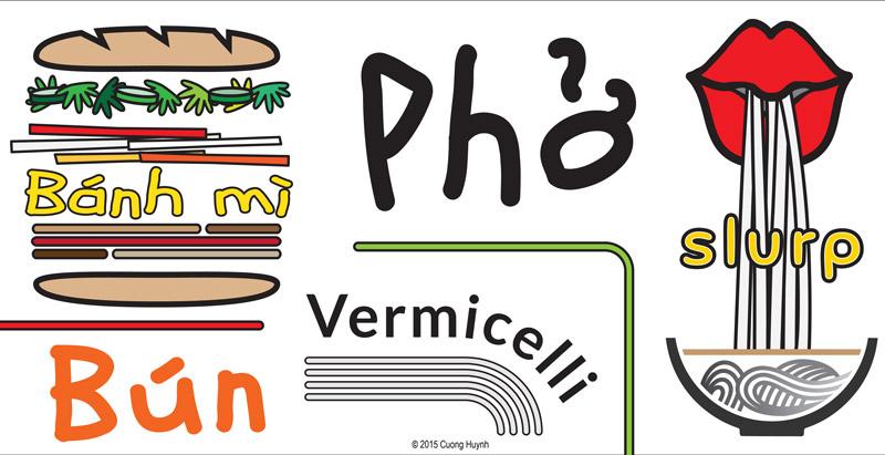 Pho Restaurant Mural Concept-detail 1