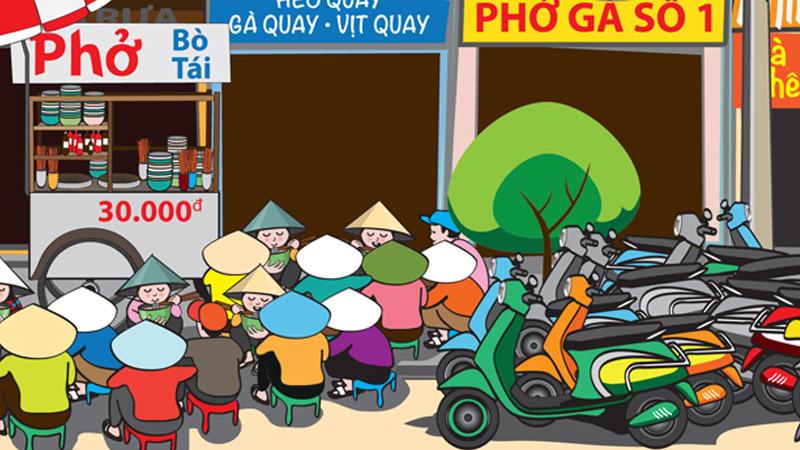 Saigon Street Food Scene #1 feature