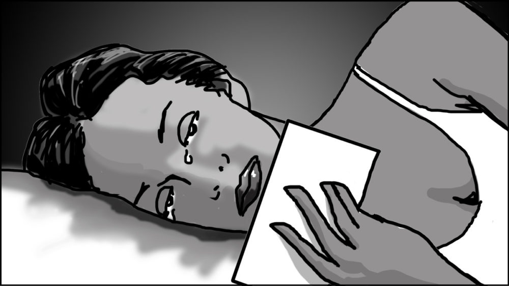 Music video storyboard-The Birthday Massacre-2