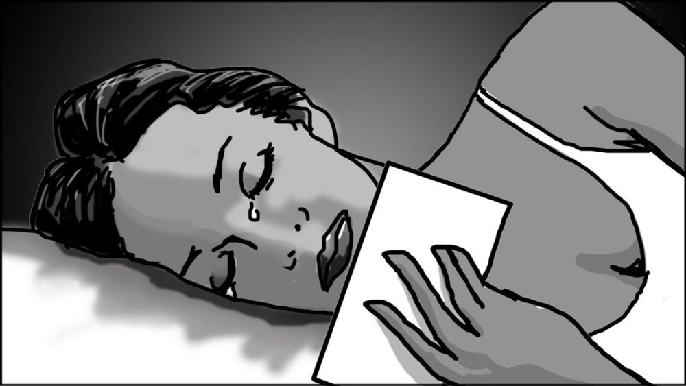 Music video storyboard-The Birthday Massacre-3