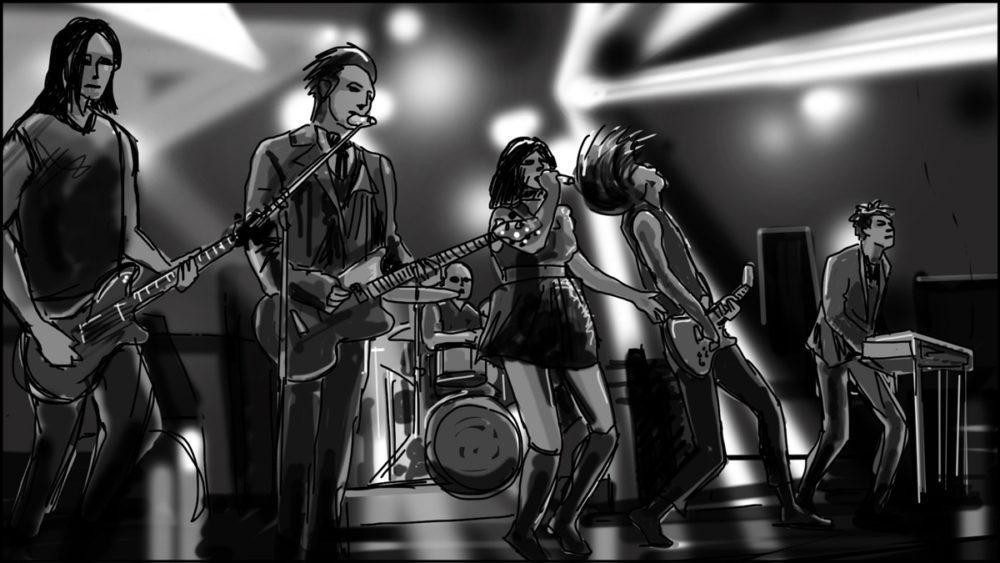 Music video storyboard-The Birthday Massacre-7