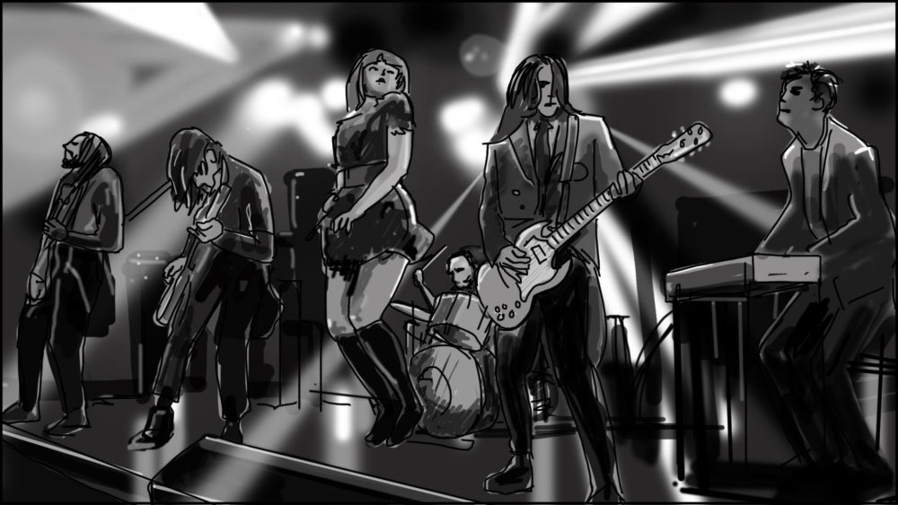 Music video storyboard-The Birthday Massacre-8