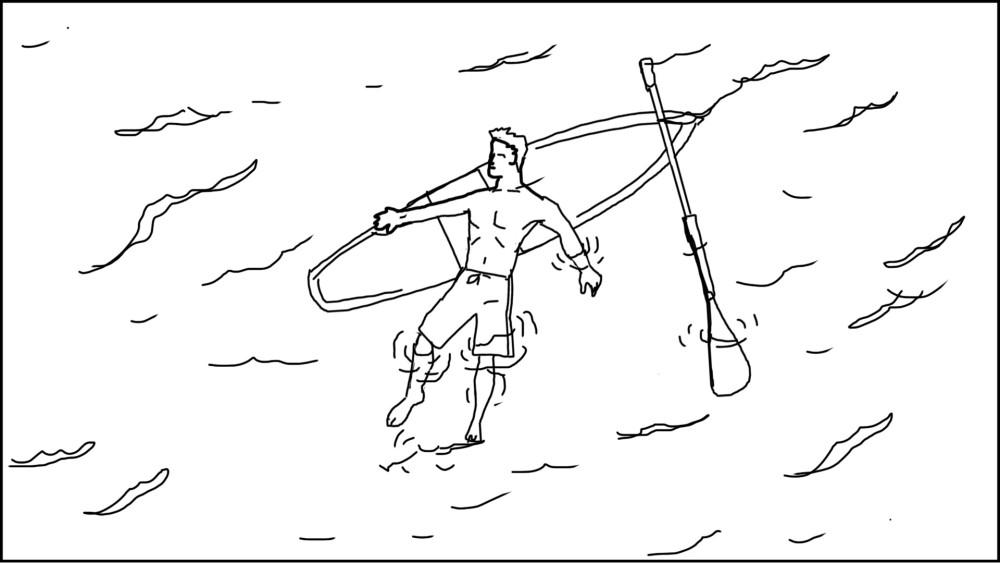 Paddle board storyboard-1