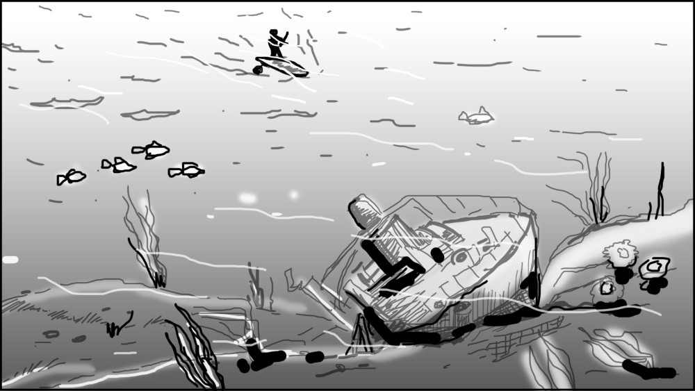 Paddle board storyboard-3