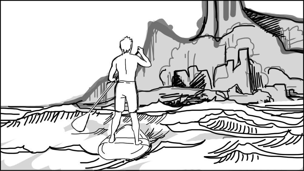 Paddle board storyboard-4