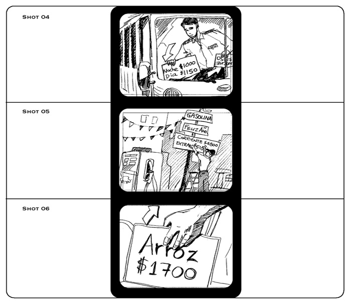 Storyboards Aguila Commercial Storyboard Project  Storyboard