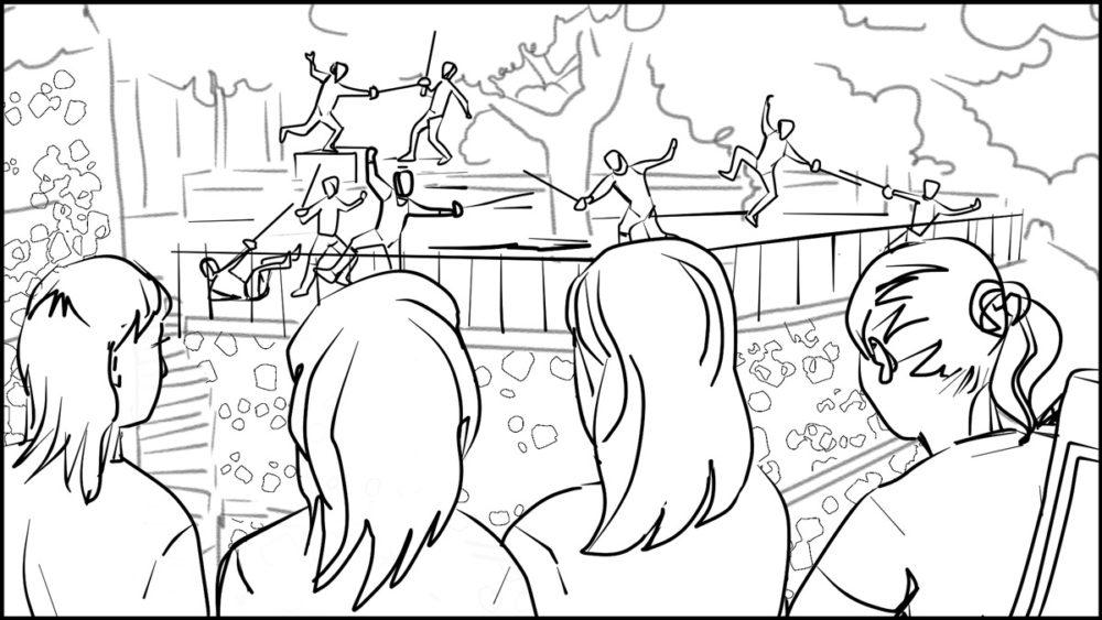 En Garde! storyboard portfolio-2