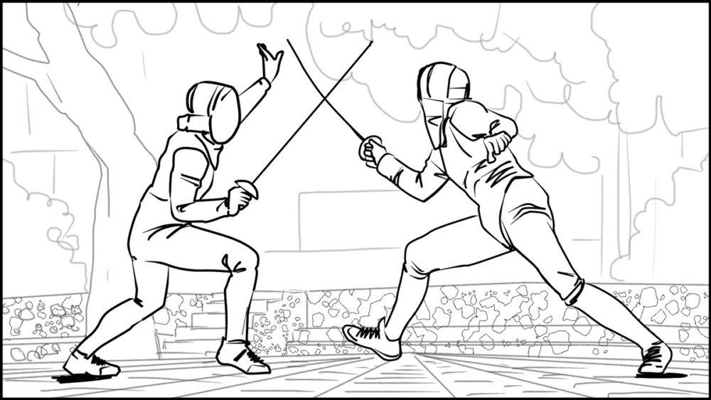 En Garde! storyboard portfolio-4
