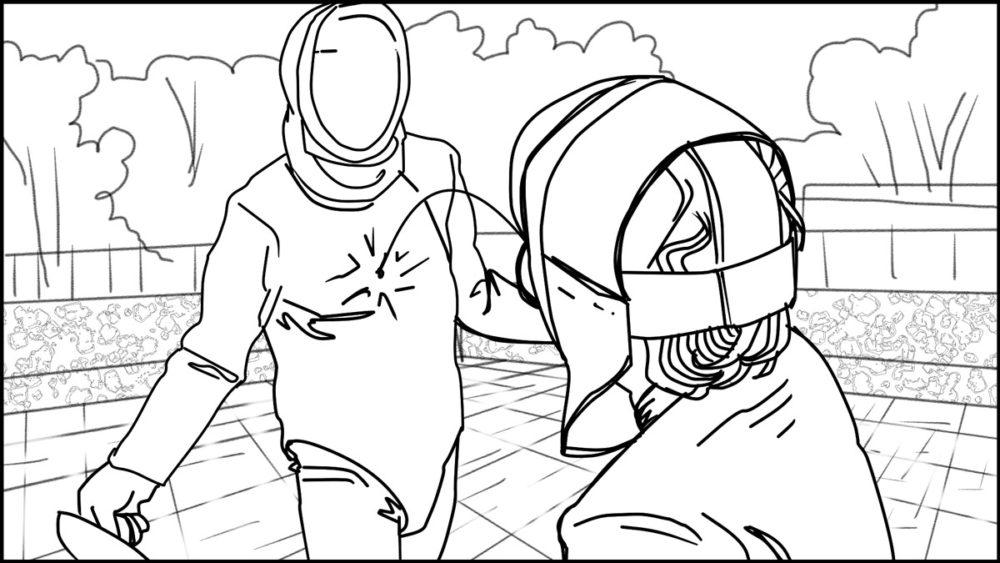En Garde! storyboard portfolio-5
