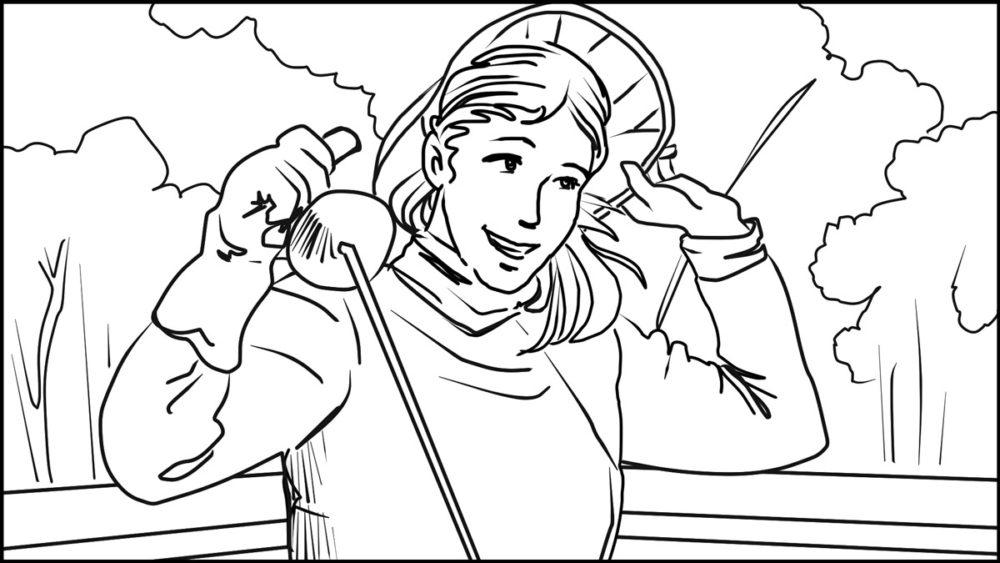 En Garde! storyboard portfolio-6