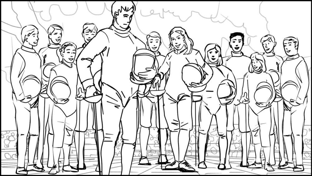 En Garde! storyboard portfolio-7