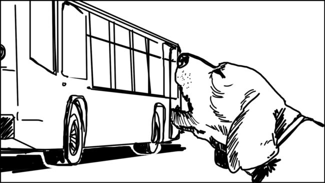Goldilocks-Lets Take A Ride storyboard portfolio-10