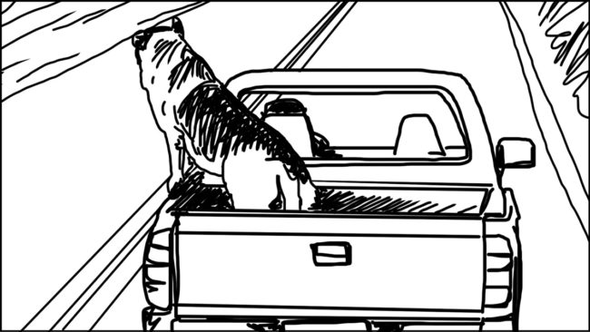 Goldilocks-Lets Take A Ride storyboard portfolio-11