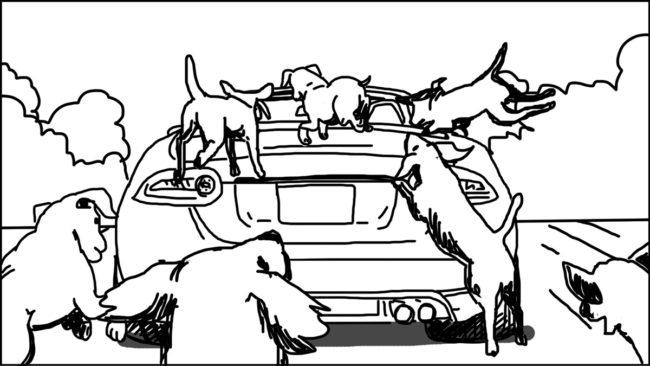 Goldilocks-Lets Take A Ride storyboard portfolio-21
