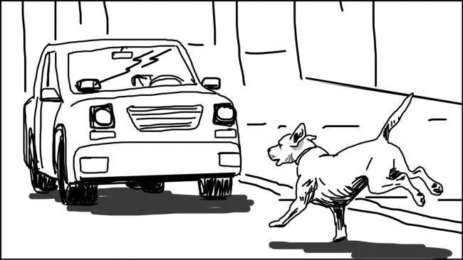 Goldilocks-Lets Take A Ride storyboard portfolio-3