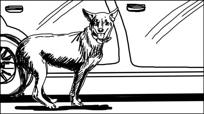 Goldilocks-Lets Take A Ride storyboard portfolio-4