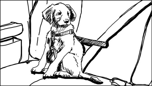 Goldilocks-Lets Take A Ride storyboard portfolio-8