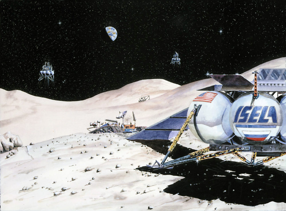 ISELA moon lander