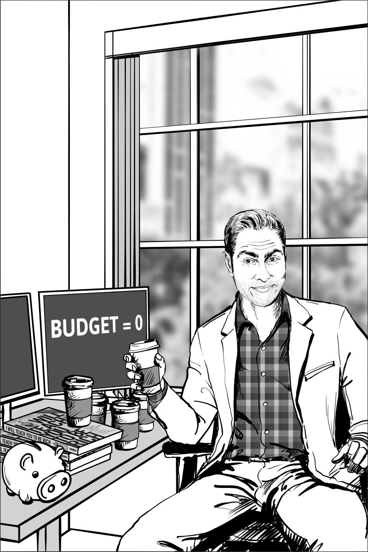 Ramit Sethi portrait concept proposal