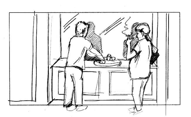The Job storyboard portfolio-1
