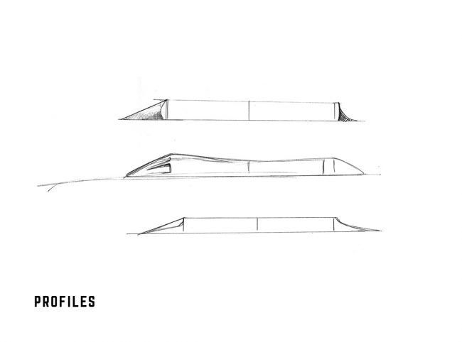 Hybrid bus rooftop concept-profiles