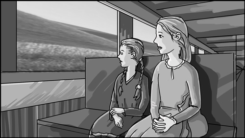 Dorothy Inspires storyboard portfolio-featured