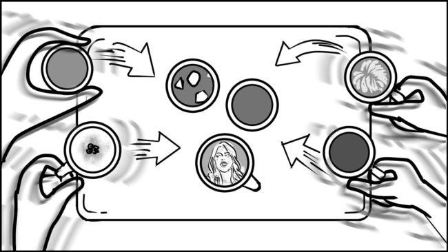 Ninja Coffee Bar 2 commercial storyboard portfolio-10A
