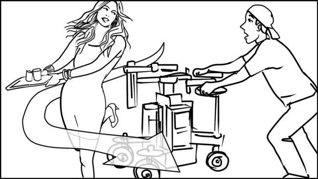 Ninja Coffee Bar 2 commercial storyboard portfolio-13