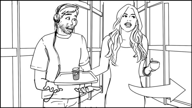 Ninja Coffee Bar 2 commercial storyboard portfolio-15