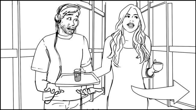 Ninja Coffee Bar 2 commercial storyboard portfolio-15