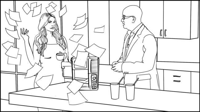 Ninja Coffee Bar 2 commercial storyboard portfolio-19