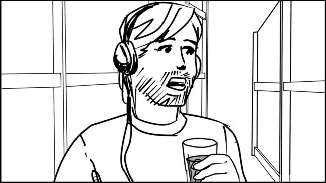 Ninja Coffee Bar 2 commercial storyboard portfolio-20A