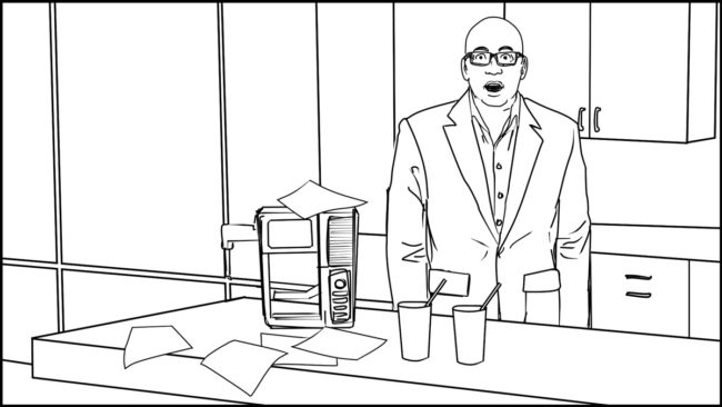 Ninja Coffee Bar 2 commercial storyboard portfolio-20B