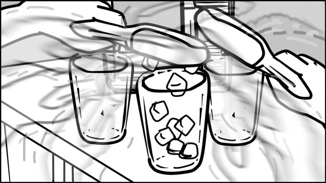 Ninja Coffee Bar 2 commercial storyboard portfolio-8B