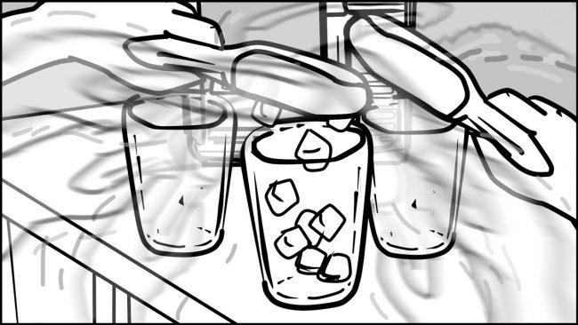 Ninja Coffee Bar 2 commercial storyboard portfolio-8B