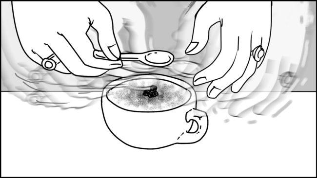 Ninja Coffee Bar 2 commercial storyboard portfolio-9C