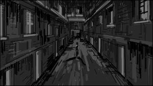 Eye Of Horus Hexagammatron Music Video Storyboard portfolio-1