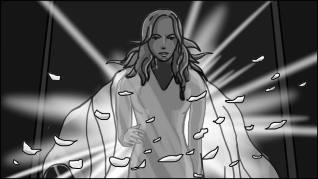 Eye Of Horus Hexagammatron Music Video Storyboard portfolio-12