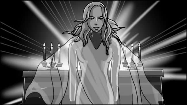 Eye Of Horus Hexagammatron Music Video Storyboard portfolio-19