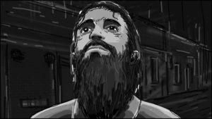 Eye Of Horus Hexagammatron Music Video Storyboard portfolio-3