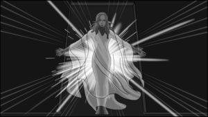 Eye Of Horus Hexagammatron Music Video Storyboard portfolio-6