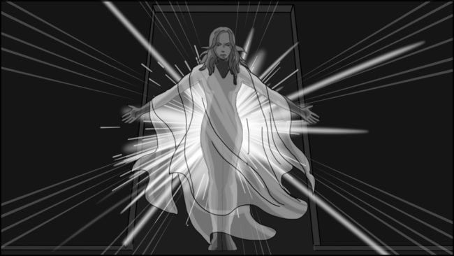 Eye Of Horus Hexagammatron Music Video Storyboard portfolio-6