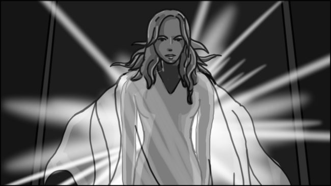 Eye Of Horus Hexagammatron Music Video Storyboard portfolio-8