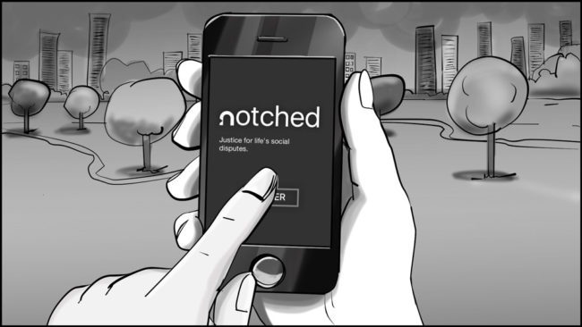 Notched App storyboard portfolio-8