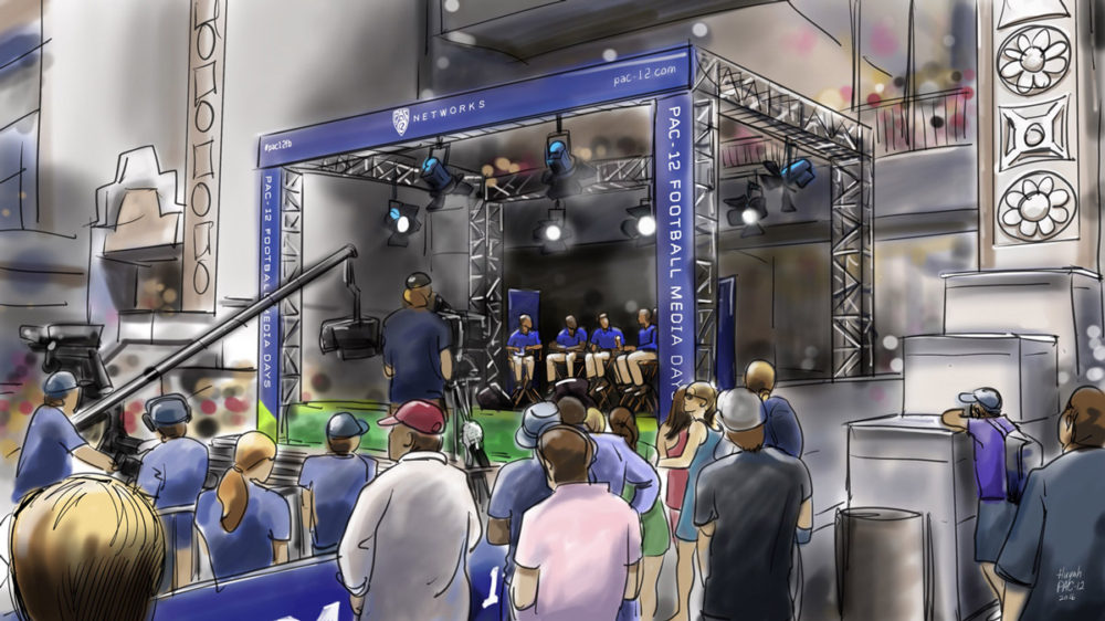 Pac-12 Networks Stage