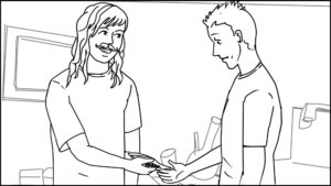 Route and Troy short storyboard portfolio-62