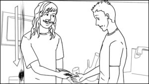 Route and Troy short storyboard portfolio-63